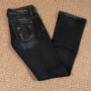 Guess jeans. Daredevil. Boot cut. Size 27.